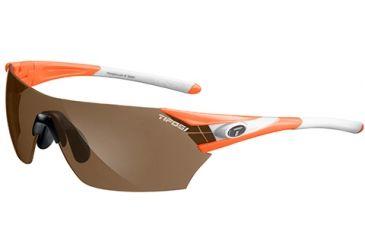 Tifosi Optics Podium w/ AC Red, Brown, Clear Lenses, Neon Orange Frame 1000105702