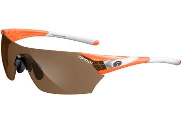 Tifosi Optics Podium w/ Brown, EC, GT Lenses, Neon Orange Frame 1000205713