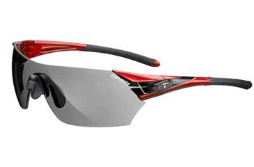 Tifosi Optics Podium w/ Smoke Fototec Lenes, Metallic Red Frame 1000302734