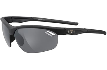 Tifosi Optics Veloce w/ AC Red, Clear, Smoke Lenses, Matte Black Frame 1040100101