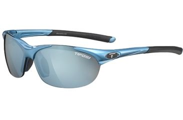 Tifosi Optics Wisp w/ AC Red, Clear, Smoke Bright Blue Lenses, Pacific Blue Frame 0040102217