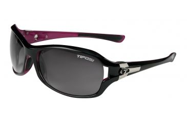 Tifosi Dea Bifocal Prescription Sunglasses - Gloss Black & Pink Frame 0090103206