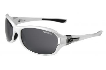 Tifosi Dea Bifocal Prescription Sunglasses - Pearl White Frame 0090101101