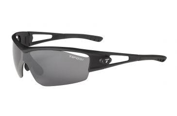 Tifosi Logic Sunglasses - Matte Black Frame, Smoke/AC Red/Clear Lenses 0050100101
