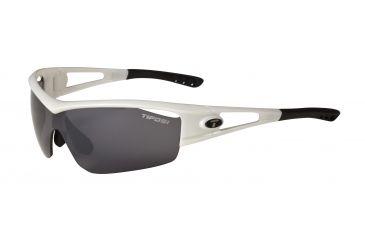 Tifosi Logic Sunglasses - Pearl White Frame, Smoke/AC Red/Clear Lenses 0050101101