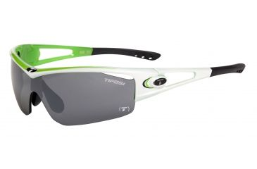Tifosi Logic Sunglasses - Race Neon Frame, Smoke/AC Red/Clear Lenses 0050102901