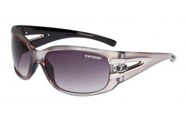 Tifosi Lust Single Vision Prescription Sunglasses - Crystal Metallic White Frame 0160404280