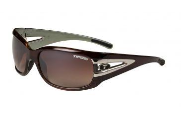 Tifosi Lust Single Vision Prescription Sunglasses - Sagewood Frame 0160403879