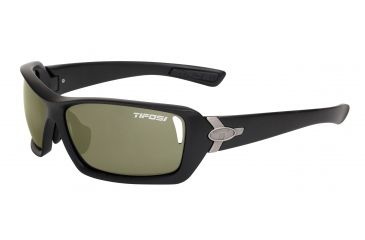 Tifosi Mast Sunglasses - Matte Black Frame, GT/EC/AC Red Lenses 0020200110