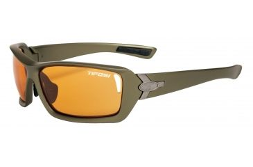 Tifosi Mast Sunglasses - Olive Green Frame, Backcountry Orange Fototec Lenses 0020302533