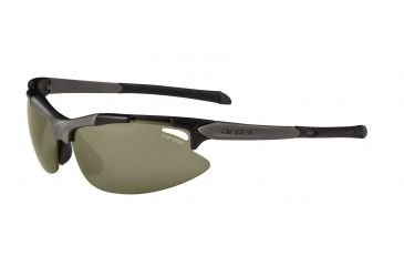 Tifosi Pave Sunglasses - Matte Black Frame, GT/EC/AC Red Lenses 0130200110