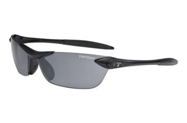 Tifosi Seek Sunglasses - Matte Black Frame, Smoke Lenses 0180400170