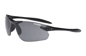 Tifosi Seek FC Sunglasses - Matte Black Frame, Smoke Lenses 0190400170
