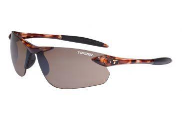 Tifosi Seek FC Sunglasses - Tortoise Frame, Brown Lenses 0190401071