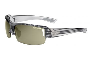 Tifosi Slope Sunglasses - Grey Stripe Frame, GT/EC/AC Red Lenses 0030202610