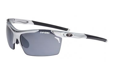 Tifosi Tempt Sunglasses - Race Black Frame, Smoke/AC Red/Clear Lenses 0140104901