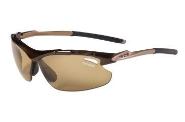 Tifosi Tyrant Sunglasses - Mocha Frame, Brown Polarized Fototec Lenses 0070601360