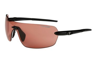 Tifosi Vogel Sunglasses - Matte Black Frame, High Speed Red Fototec Lenses 0170300130