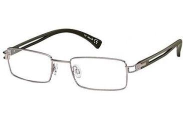 Timberland TB1138 Eyeglass Frames - Shiny Gun Metal Frame Color