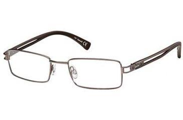 Timberland TB1138 Eyeglass Frames - Shiny Dark Brown Frame Color