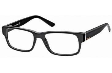 Timberland TB1210 Eyeglass Frames - Black Frame Color