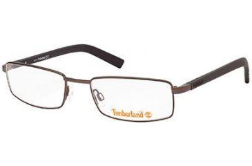 Timberland TB1213 Eyeglass Frames - Shiny Dark Brown Frame Color