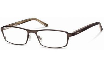 Timberland TB1217 Eyeglass Frames - Shiny Dark Brown Frame Color