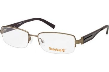 Timberland TB1241 Eyeglass Frames - Shiny Dark Brown Frame Color