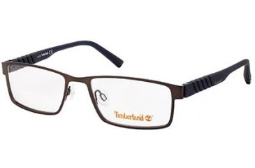 Timberland TB1256 Eyeglass Frames - Dark Brown Frame Color