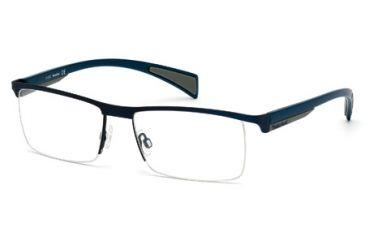 Timberland TB1275 Eyeglass Frames - Matte Blue Frame Color