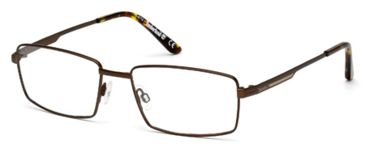 Timberland TB1277 Eyeglass Frames - Matte Dark Brown Frame Color