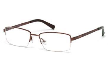 Timberland TB1280 Eyeglass Frames - Dark Bronze Frame Color