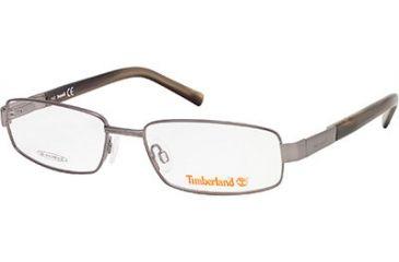 Timberland TB1529 Eyeglass Frames - Shiny Gun Metal Frame Color