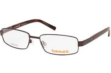 Timberland TB1529 Eyeglass Frames - Shiny Dark Brown Frame Color