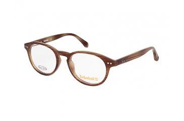 Timberland TB1538 Eyeglass Frames - Brown Horn Frame Color