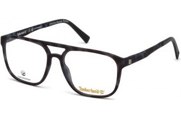 6bc1762e0d0 Timberland TB1600 Eyeglass Frames - Coloured Havana Frame Color