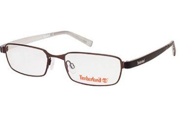 Timberland TB5045 Eyeglass Frames - Matte Dark Brown Frame Color