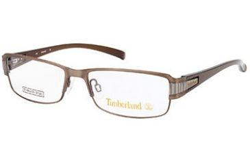 Timberland TB5046 Eyeglass Frames - Matte Light Brown Frame Color