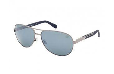 Timberland TB9058 Sunglasses - Shiny Gunmetal Frame Color, Smoke Lens Color