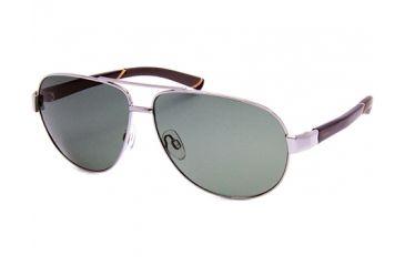 86419e692e7e5 Timberland TB9500 Sunglasses - Shiny Light Nickeltin Frame Color