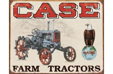 Tin Signs Case Tractor Tin Sign
