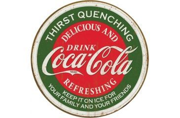 Tin Signs Coca Cola Sign, Delicious and Refreshng TSN1659