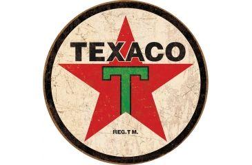 Tin Signs Texaco Round Tin Sign