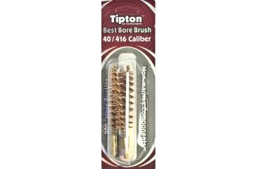 Tipton 40/416 Caliber Rifle Bronze Best Bore Brush, Shelf Pack of 3