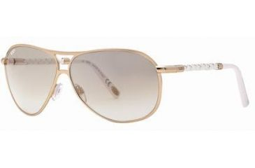 Tod's TO0008 Sunglasses - Shiny Rose Gold Frame Color, Brown Mirror Lens Color