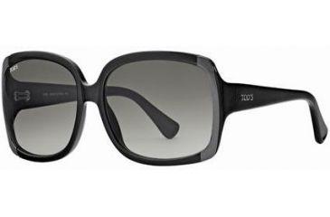 Tod's TO0040 Sunglasses - Shiny Black Frame Color, Gradient Smoke Lens Color