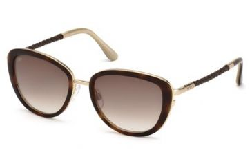 Tod's TO0079 Sunglasses - Havana Frame Color