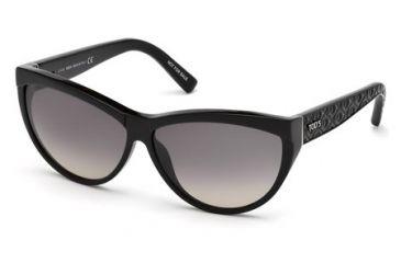 Tod's TO0086 Sunglasses - Shiny Black Frame Color