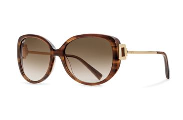 Tod's TO0113 Sunglasses - Shiny Dark Brown Frame Color, Gradient Brown Lens Color