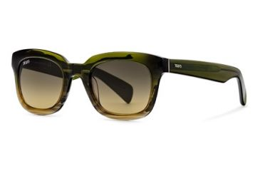 Tod's TO0121 Sunglasses - Light Green Frame Color, Gradient Green Lens Color